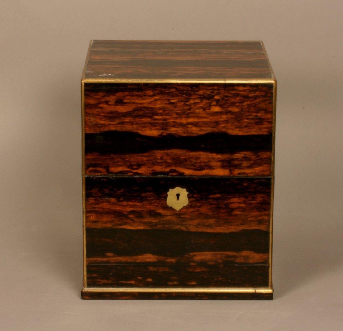 A Fine Calamander Wood Decanter Box