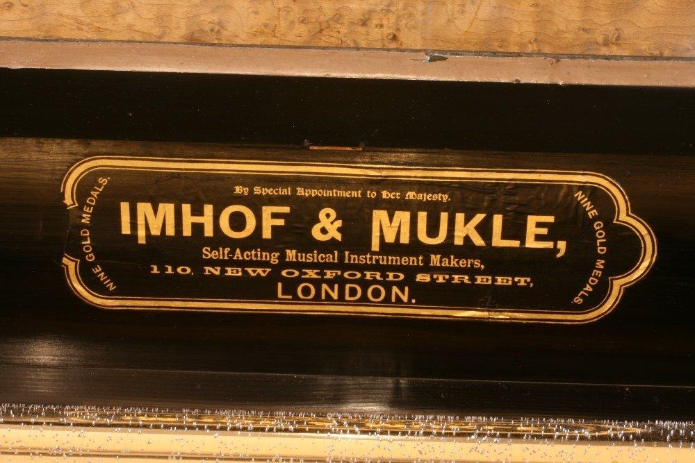 A Fine and Rare Nicole Freres Piano Forte Music Box
