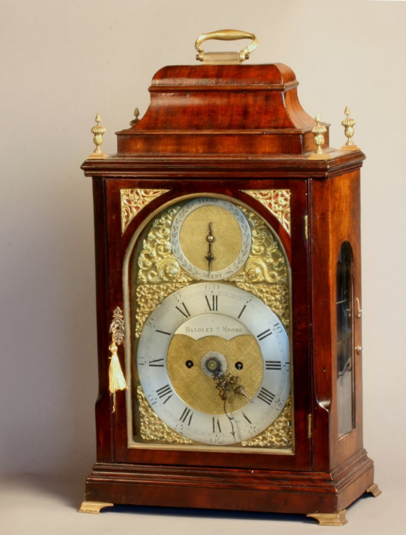A Fine George III Mahogany Bracket Clock