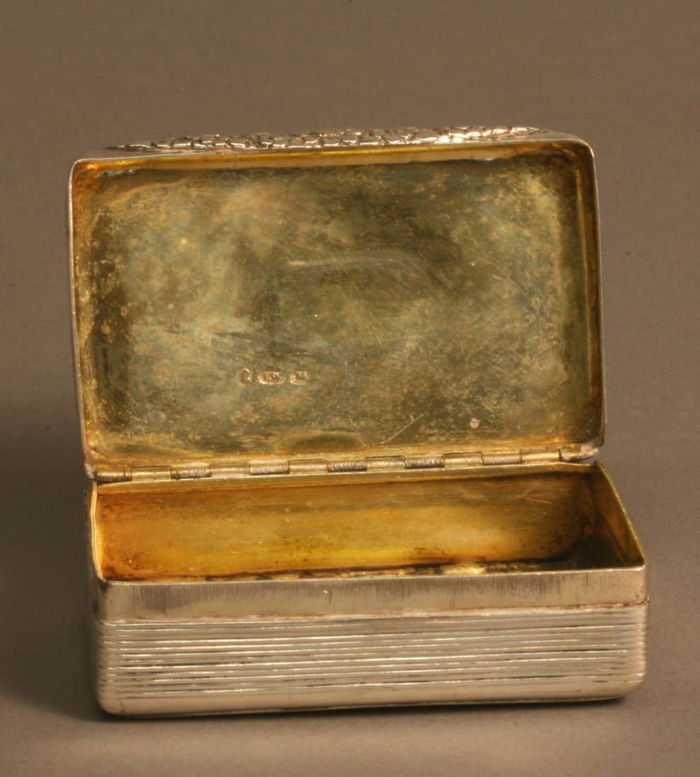 A George IV Table Snuff Box