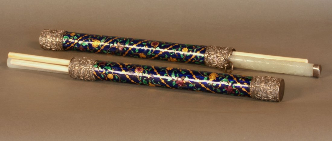 18th/19th Century Qing Dynasty. A rare near matching