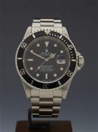 Rolex - Submariner 16610 Stainless Steel Automatic 2008