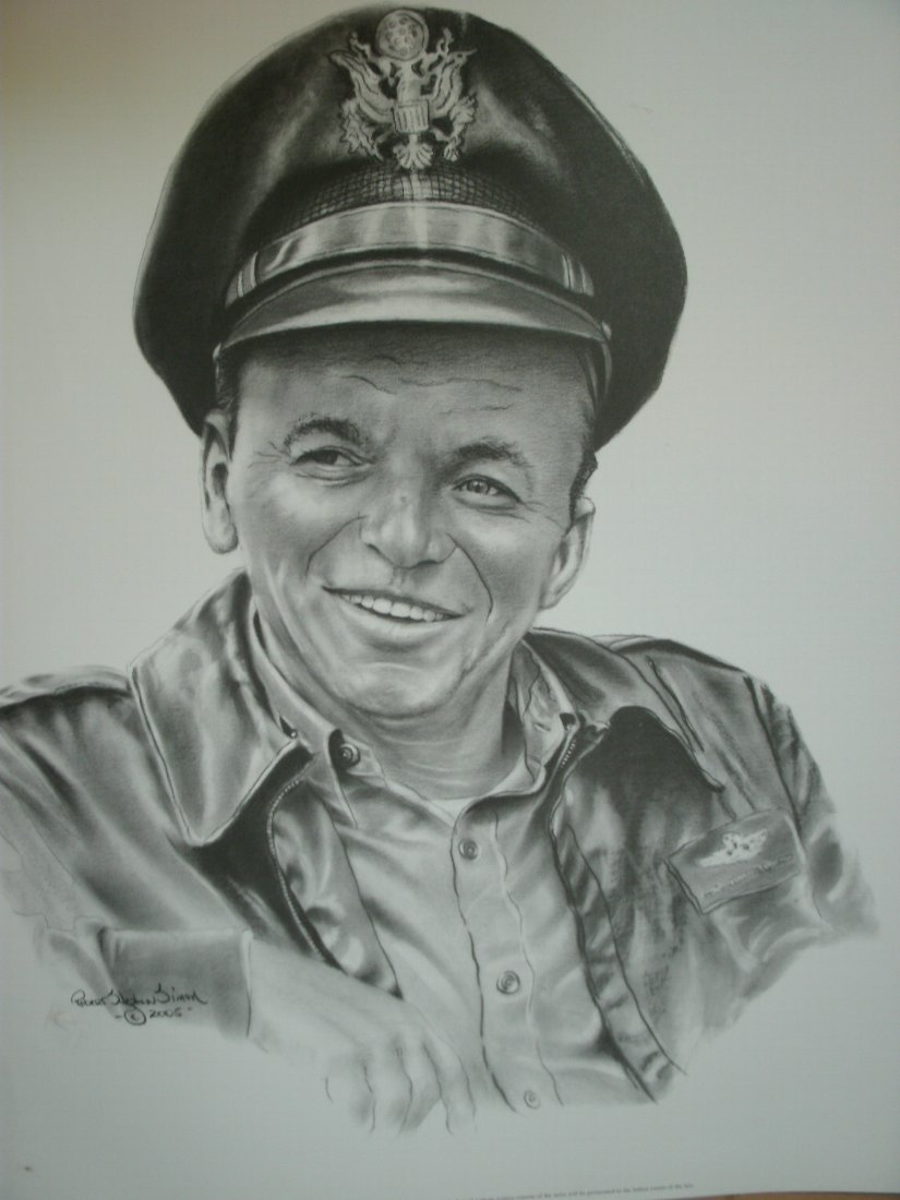 "012: Frank Sinatra""Navy Role"" Signed Lithograph by  Rob"