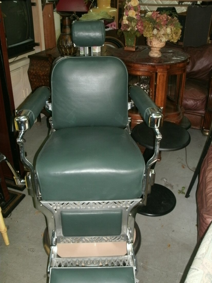 34: Vintage Koken Barber Chair