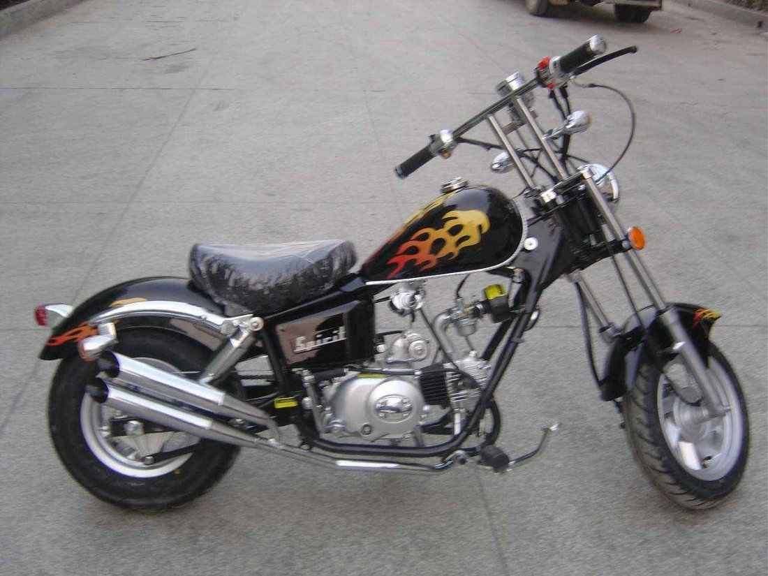 Street legal 49cc motorcycles