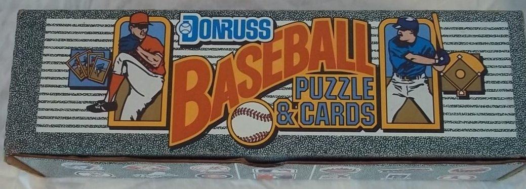 1990 Donruss Baseball Puzzle & Cards Set