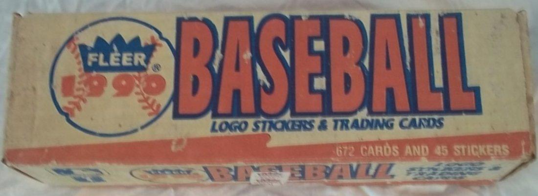 1990 Fleer Baseball Complete Trading Cards Set