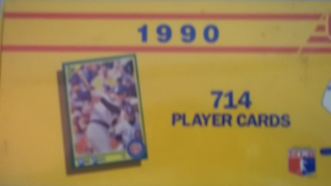 1990 Score Baseball Cards Collector Complete Set - 2