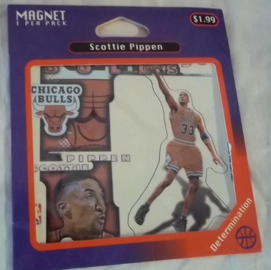 Scottie Pippen Magnet Pack Chicago Bulls Player  # 33