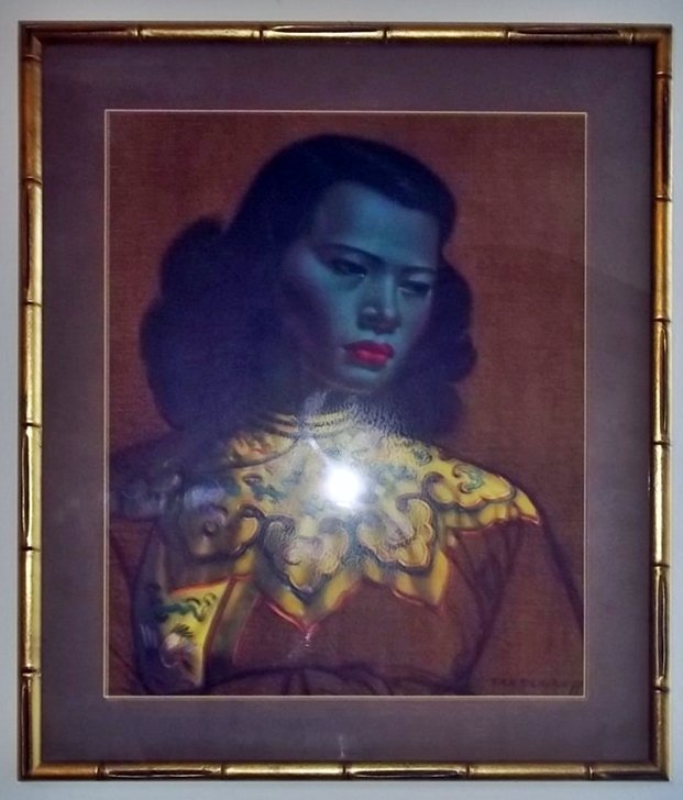 """""""The Green Lady"""" by Vladimir Tretchikoff  Picture"""