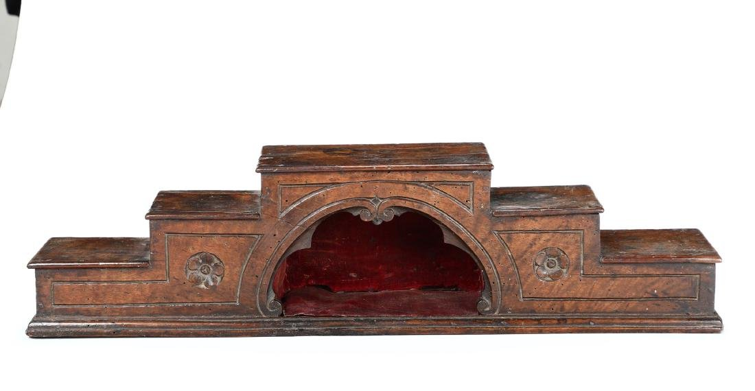 Wooden architectural feature, Italy, 17th-18th century