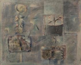 Ibrahim Kodra (1918-2006), Senza titolo, 1960