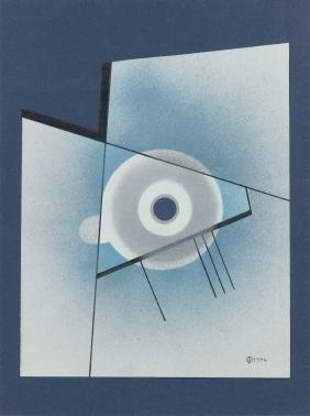 Carmelo Arden Quin (1913-2010), Senza titolo, 1976