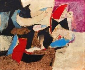 Afro Basaldella (1912-1976), Blu cobalto, 1967