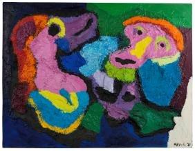 Karel Appel (1921-2006), Senza titolo, 1971