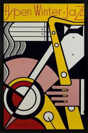Roy Lichtenstein (1923-1997), Aspen Winter Jazz, 1967