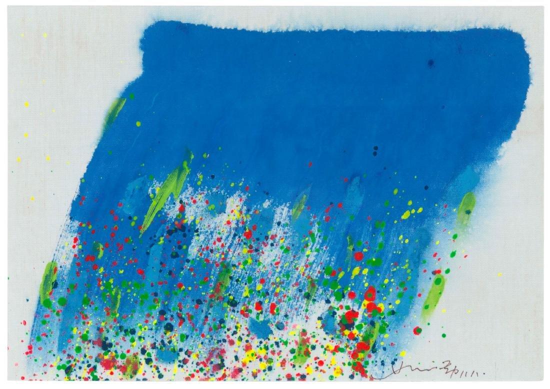 Hsiao Chin (1935), La cascata-22, 1988