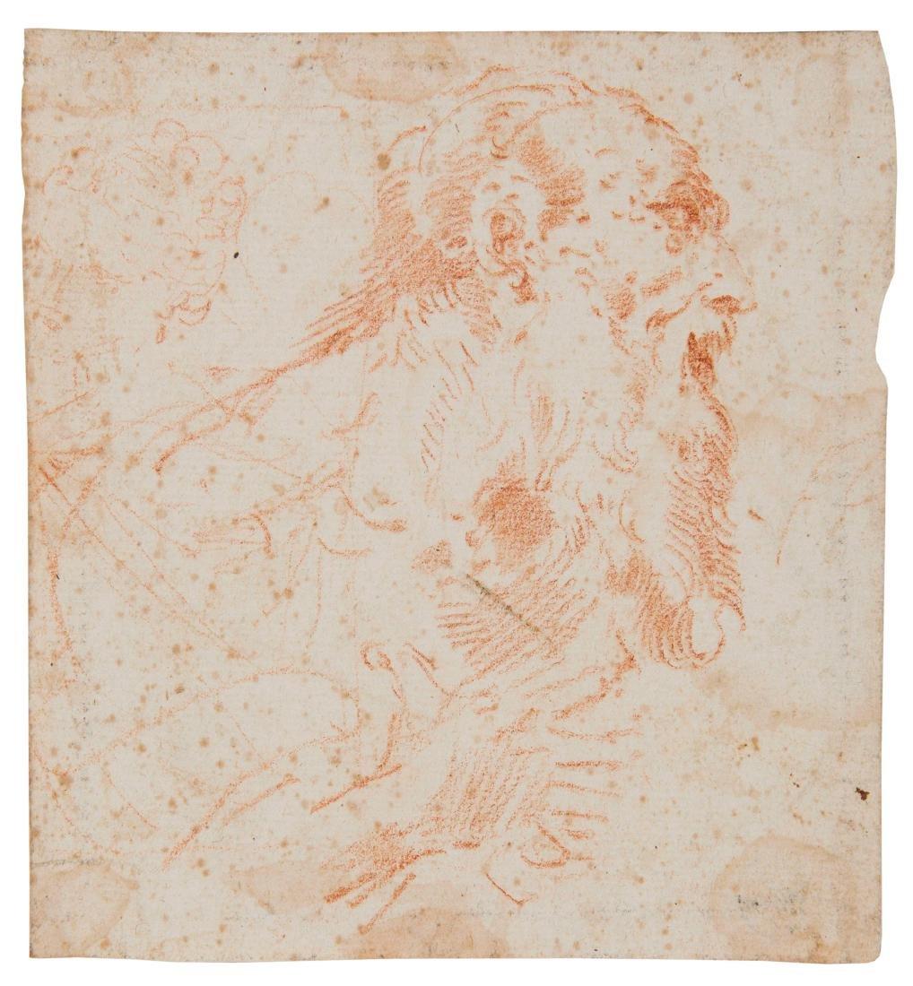 Donato Creti (1671-1749), Testa di vecchio