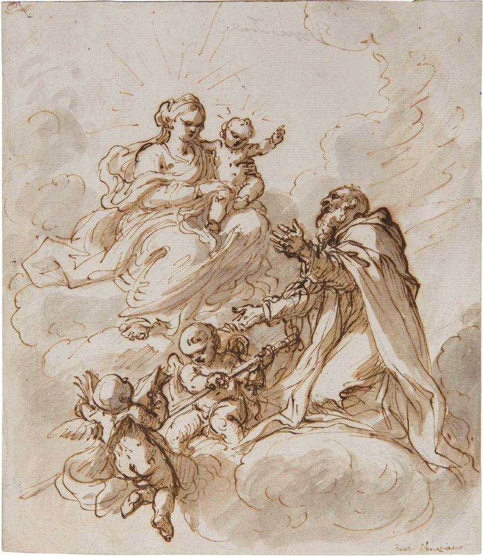 Giuseppe Zocchi (Firenze 1711-1767) attribuito a,