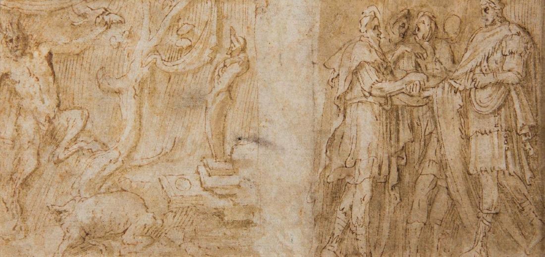 Polidoro da Caravaggio (1497-1543), Studio di un