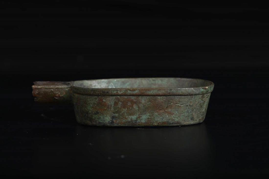 A bronze dipper with inscriptions, China, Ming Dynasty, - 2
