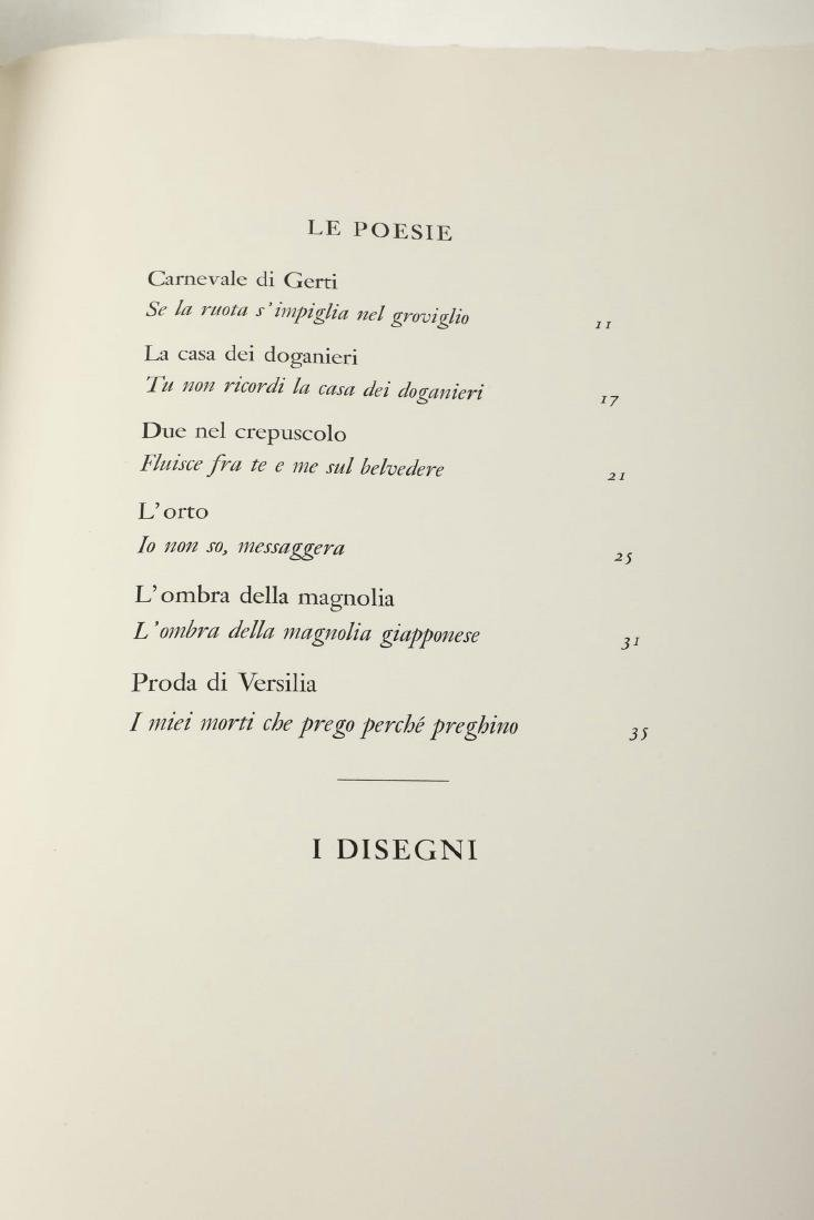 Franco Riva Edizioni I poeti illustrati / Montale, - 2