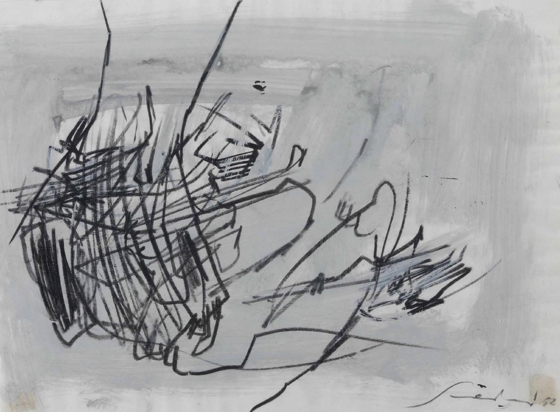 Emilio Scanavino (1922-1986), Senza titolo, 1952