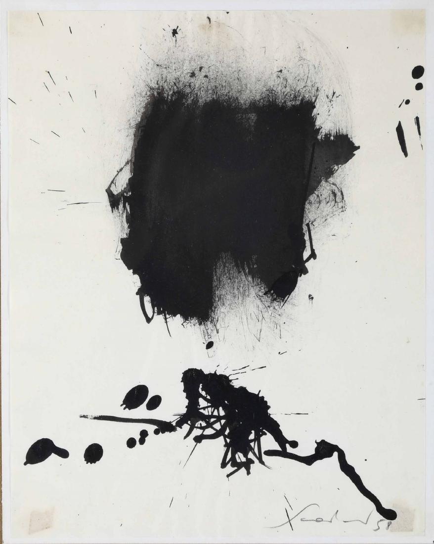 Emilio Scanavino (1922-1986), Senza titolo, 1958