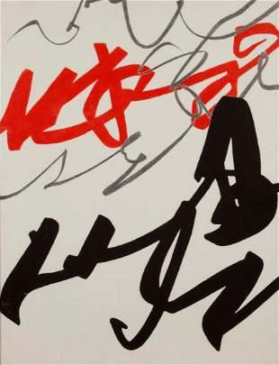 Agostino Ferrari (1938), Evento scrittura, 1988