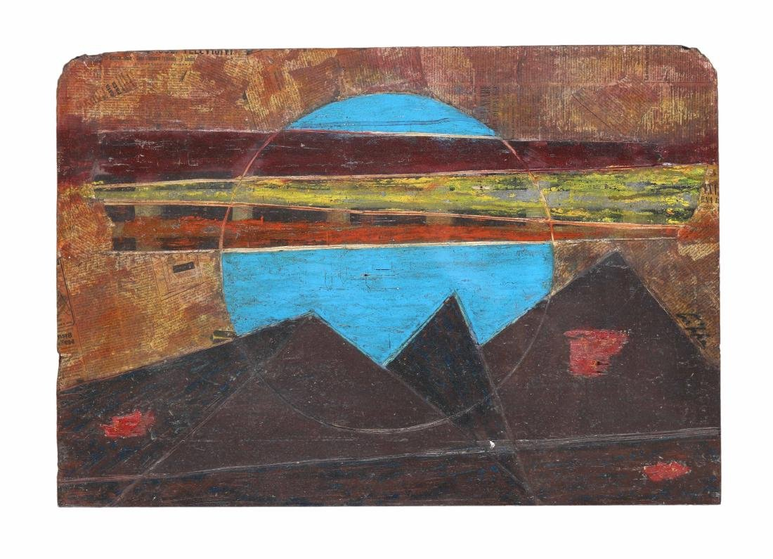 Roberto Crippa (1921-1972), Omaggio a Duchamp, anni