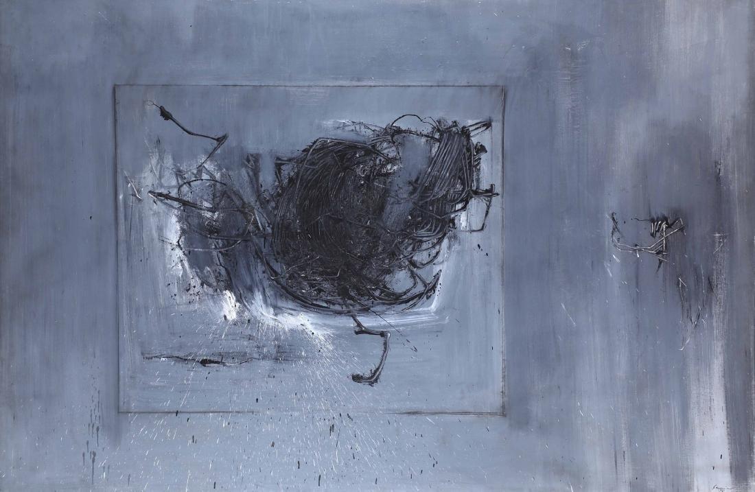 Emilio Scanavino (1922-1986), Il gomitolo, 1961