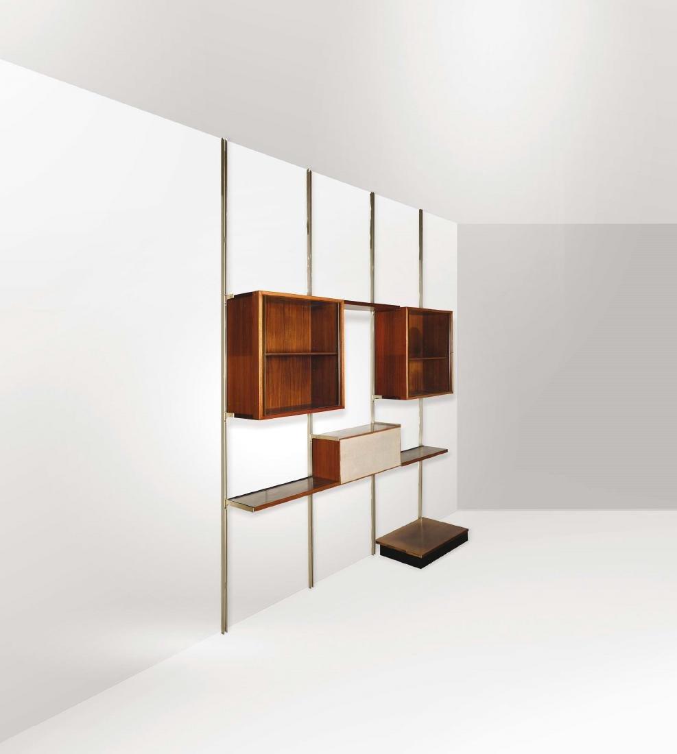 Due mobili componibili E22 con struttura in legno e - 2