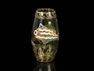 Vittorio Zecchin, Murano, 1920 ca. An exceptional vase