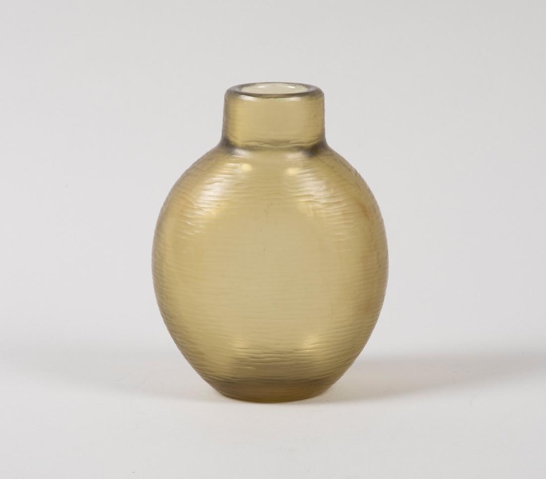 Carlo Scarpa, Venini, Murano, 1940 ca. An oval vase