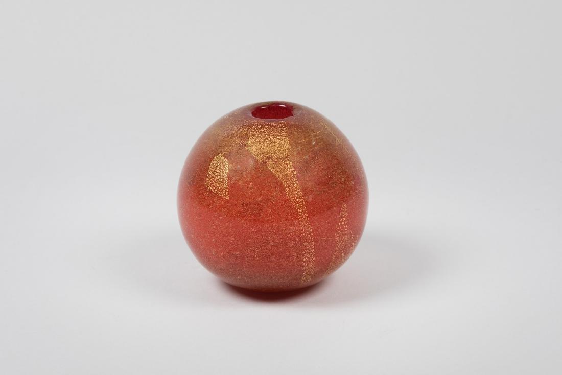 Carlo Scarpa, Venini, Murano, 1936 ca. A spherical vase