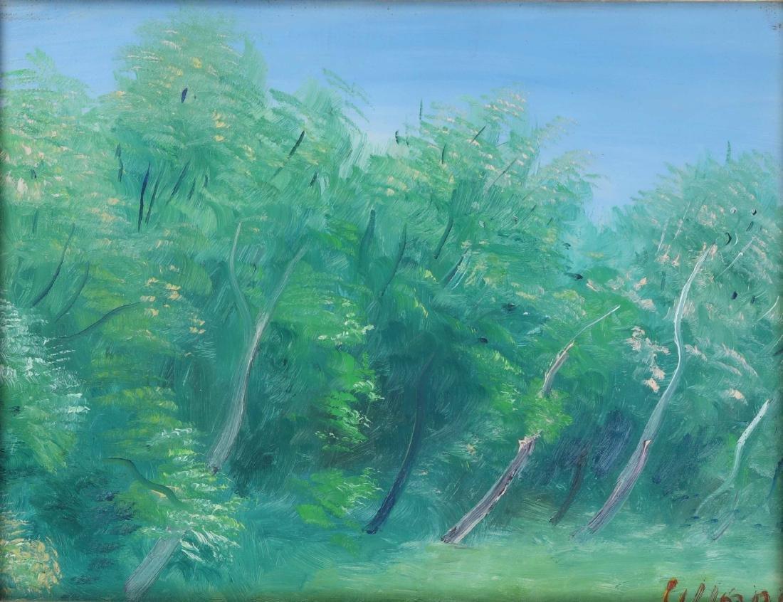 Umberto Lilloni (1898-1980), Trees, 1961