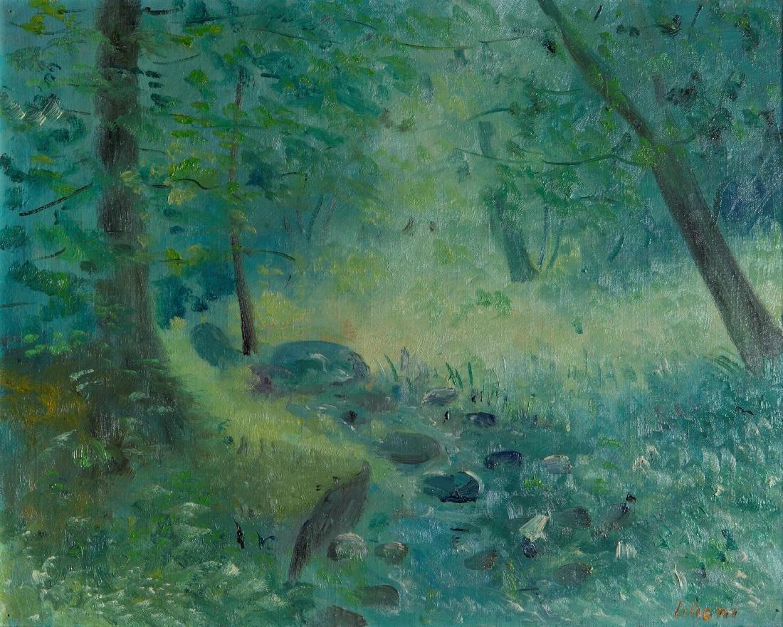 Umberto Lilloni (1898-1980), Stream, 1957