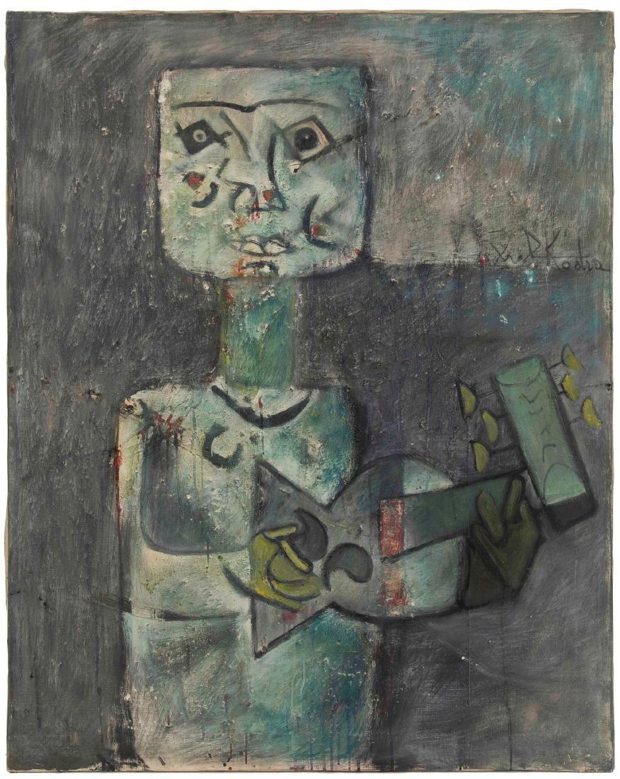Ibrahim Kodra (1918-2006), Musician, 1961