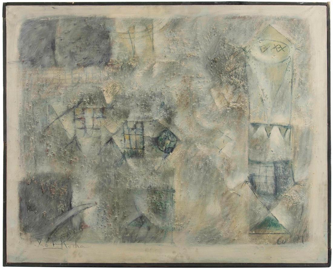 Ibrahim Kodra (1918-2006), Pesci di fiume, 1960