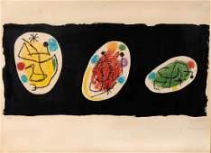 Joan Mir 18931983 La belle giardiniere 1968