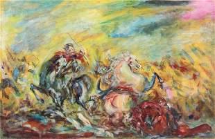 Aligi Sassu (1912-2000), Untitled, 1952