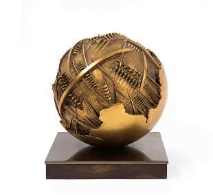 Arnaldo Pomodoro (1926), Sphere, 1977