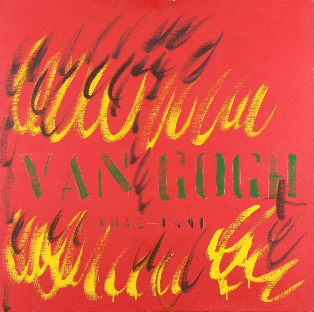 Tano Festa (1938-1988), Van Gogh, 1981