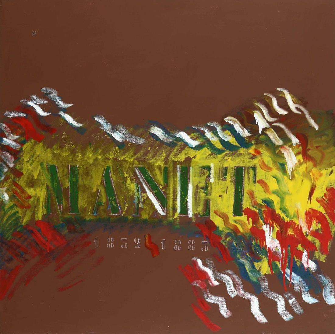 Tano Festa (1938-1988), Manet 1981