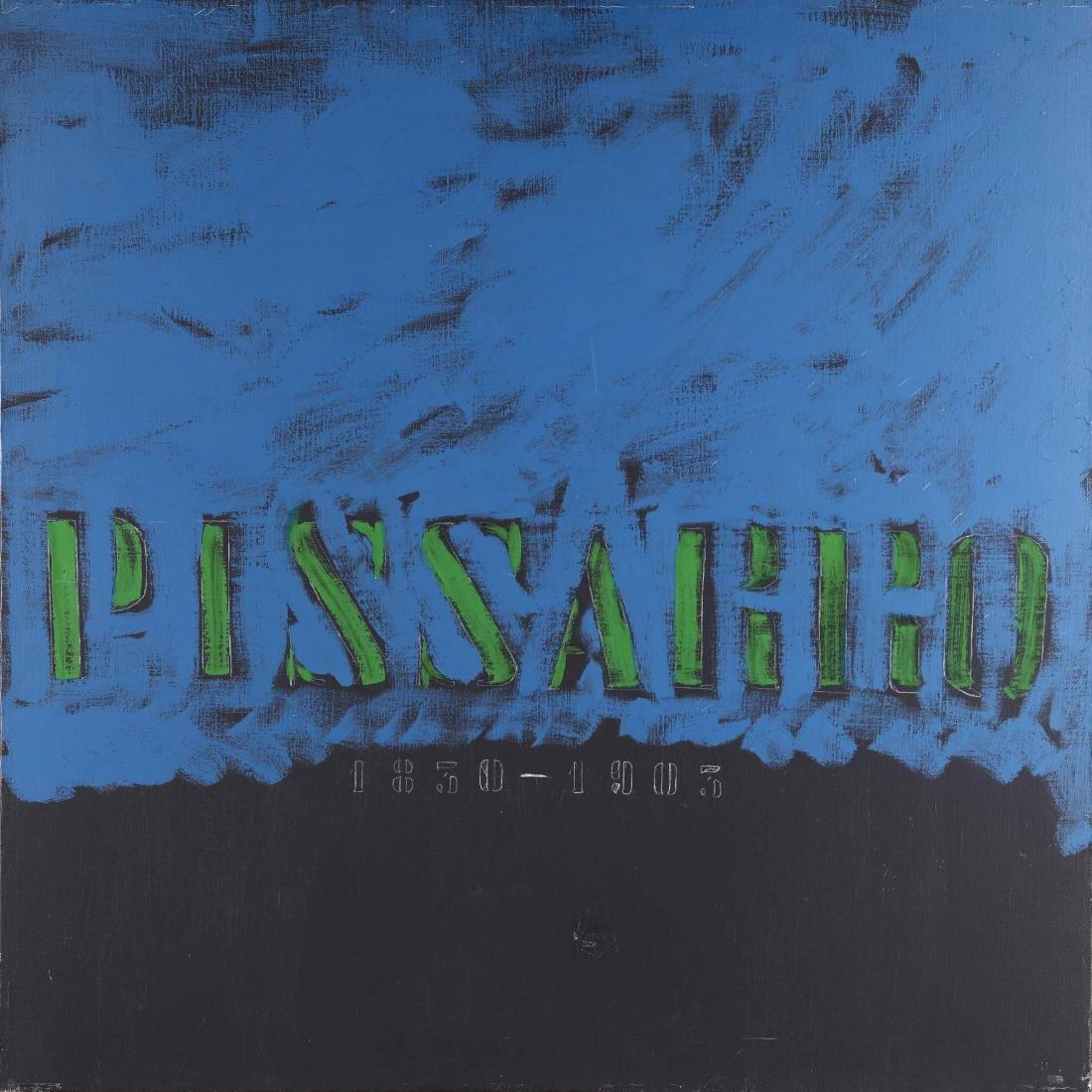 Tano Festa (1938-1988), Pissarro 1981