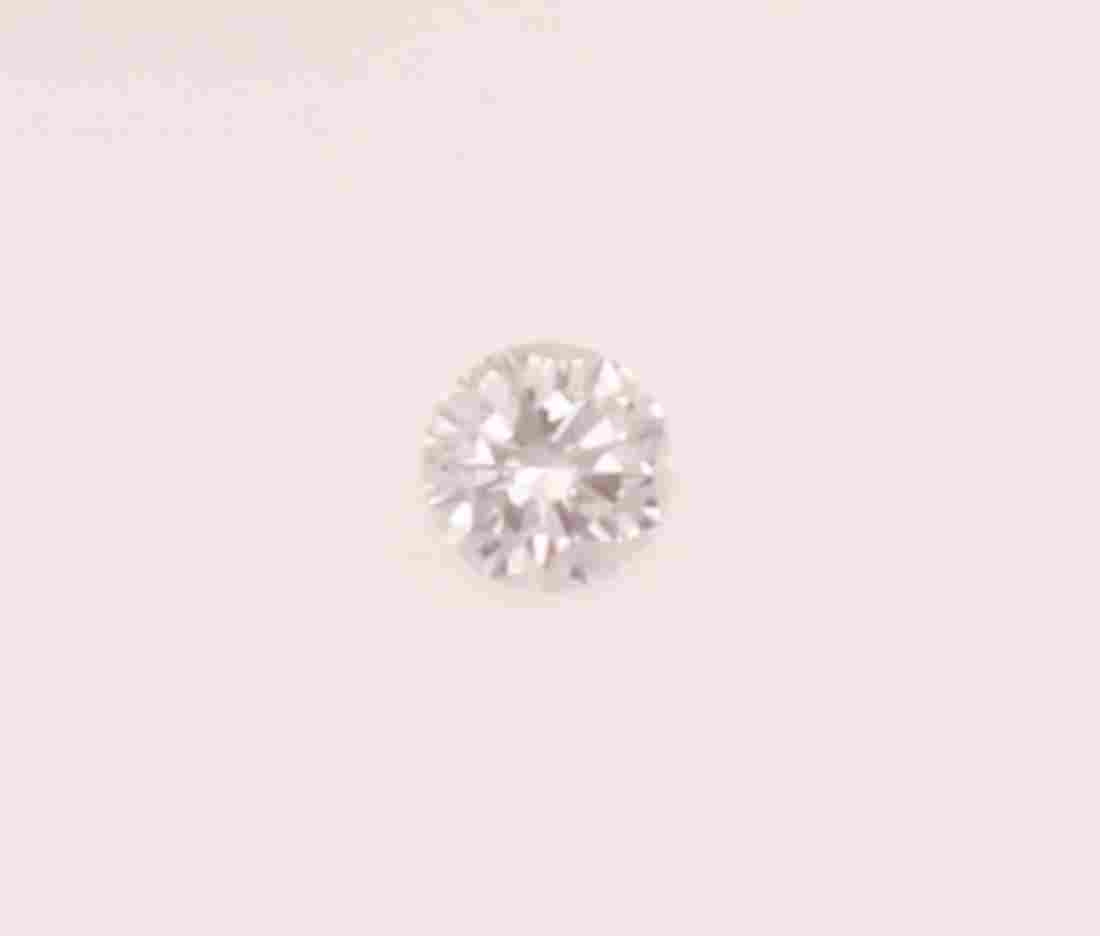 Unmounted brilliant-cut diamond weighing 2.42 carats