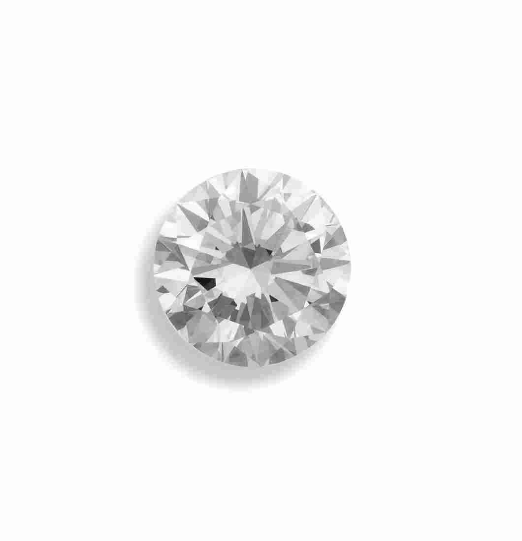 Unmounted brilliant-cut diamond weighing 2.30 carats