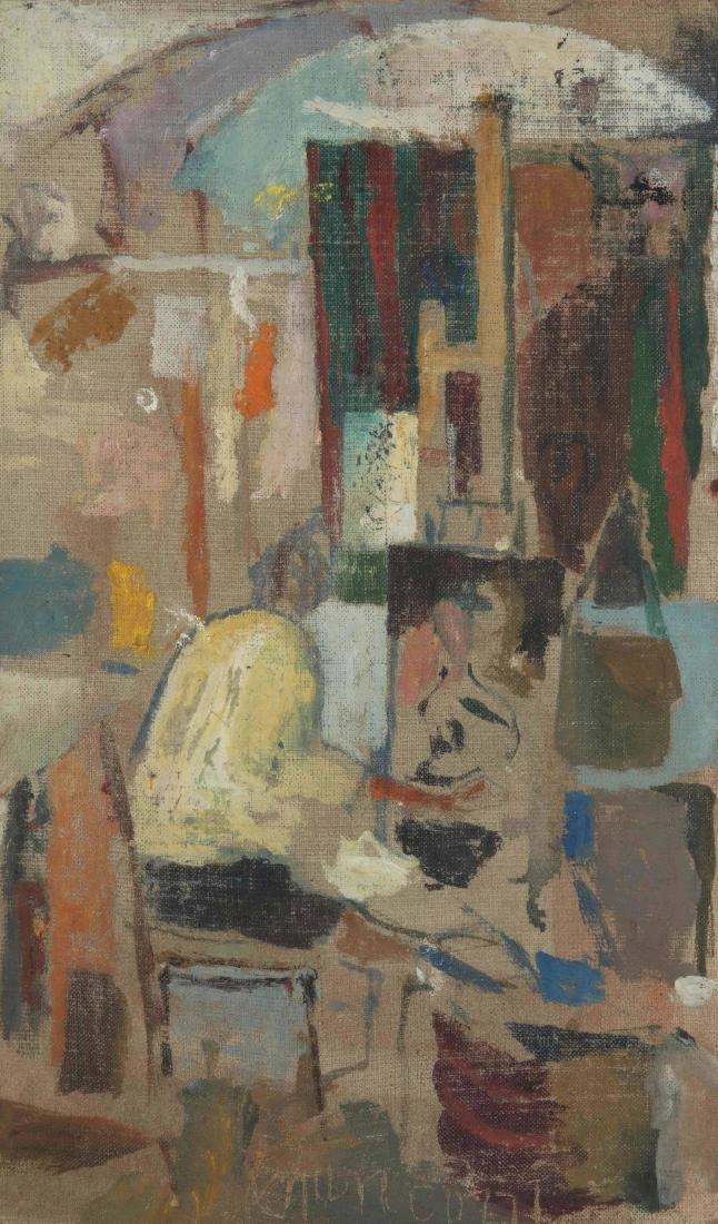 Fulvio Bianconi (1915-1996), Nell'atelier