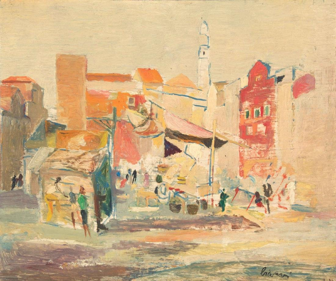 Fulvio Bianconi (1915-1996), Venezia, Campo Santa