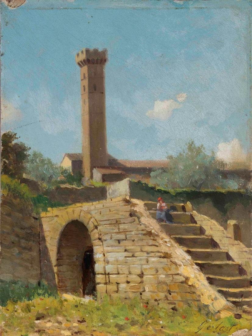 Lorenzo Gelati (1824-1893), Paesaggio